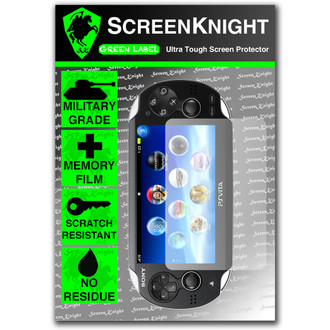 ScreenKnight PlayStation PS Vita Front Invisible Shield