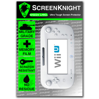 ScreenKnight Nintendo Wii U Front Invisible Shield