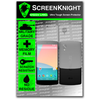 ScreenKnight Google Nexus 5 Full Body Invisible Shield