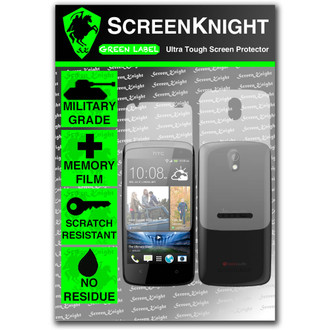 ScreenKnight HTC Desire 500 Full Body Invisible Shield