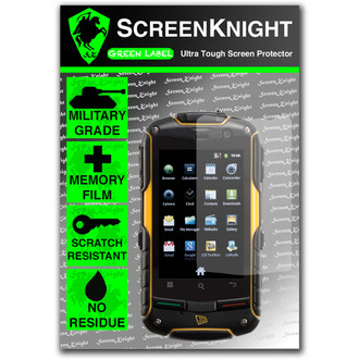 ScreenKnight JCB Toughphone Front Invisible Sheild