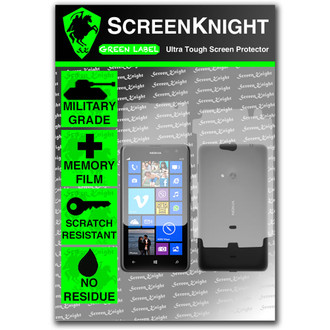 ScreenKnight Nokia Lumia 625 Full Body Invisible Shield