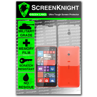 ScreenKnight Nokia Lumia 1320 Full Body Invisible Shield