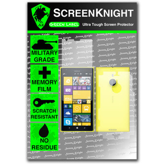 ScreenKnight Nokia Lumia 1520 Full Body Invisible Shield