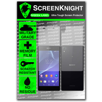ScreenKnight Sony Xperia Z2 Full Body Invisible Shield