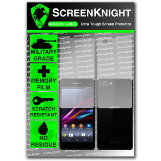 ScreenKnight Sony Xperia Z1 Compact Full Body Invisible Shield