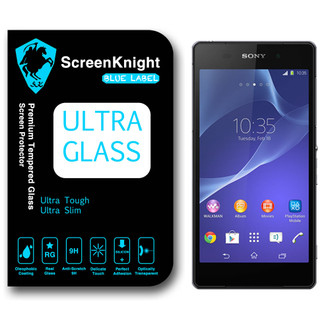 ScreenKnight Ultra Glass Sony Xperia Z2 Premium Tempered Glass Screen Protector
