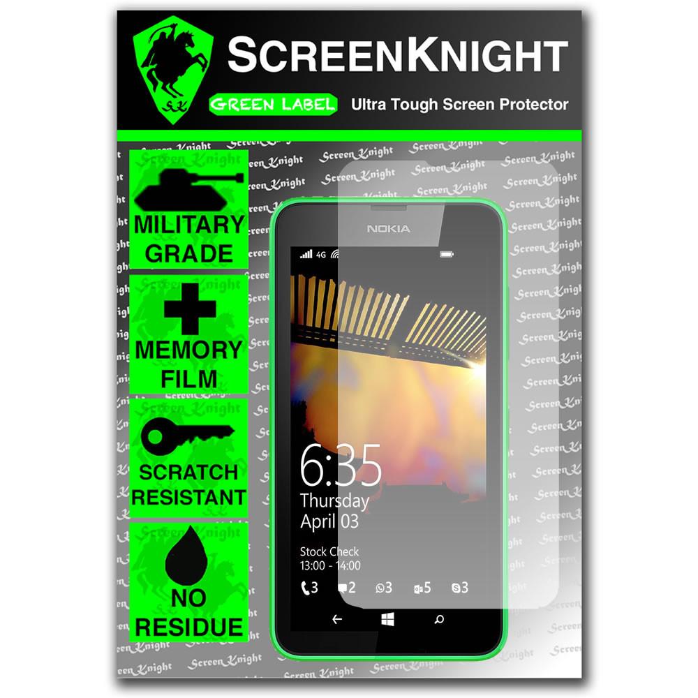 ScreenKnight Nokia Lumia 635 Front Invisible Shield