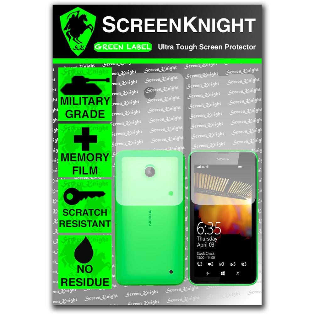 ScreenKnight Nokia Lumia 635 Full Body Invisible Shield
