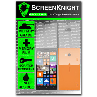 ScreenKnight Nokia Lumia 930 Full Body Invisible Shield