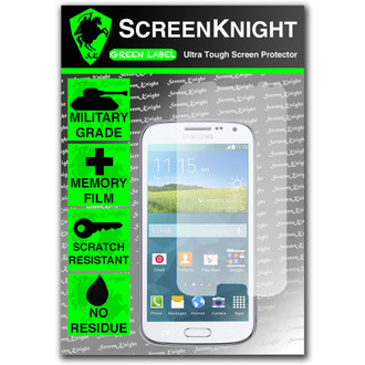 ScreenKnight Samsung Galaxy K Zoom Front  Invisible Shield