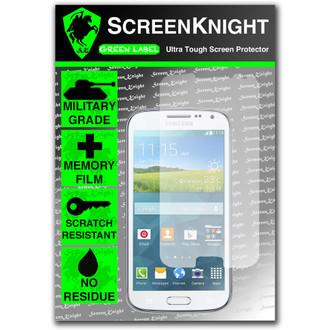 ScreenKnight Samsung Galaxy K Zoom Front  Invisible Shield