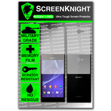 ScreenKnight Sony Xperia M2 Full Body Invisible Shield
