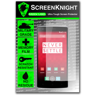 ScreenKnight Oneplus One Front Invisible Shield