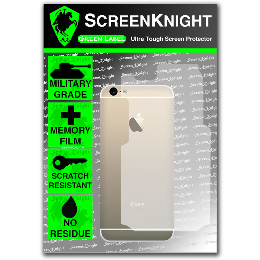ScreenKnight Apple iPhone 6 (5.5Inch) Back Invisible Shield