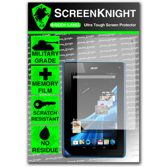 ScreenKnight Acer Iconia B1-A71 Tablet Front Invisible Shield