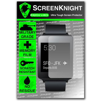 ScreenKnight LG G Watch Front Invisible Shield