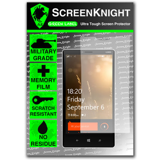 ScreenKnight Nokia Lumia 1820 Front Invisible Shield