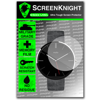 ScreenKnight Motorola Moto360 Watch Front Invisible Shield