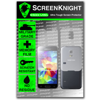 ScreenKnight Samsung Galaxy S5 Mini Full Body Invisible Shield