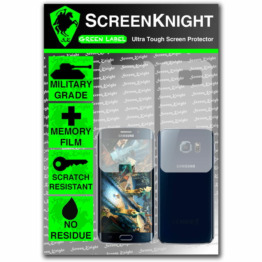 ScreenKnight Samsung Galaxy S6 Edge Full Body Invisible Shield