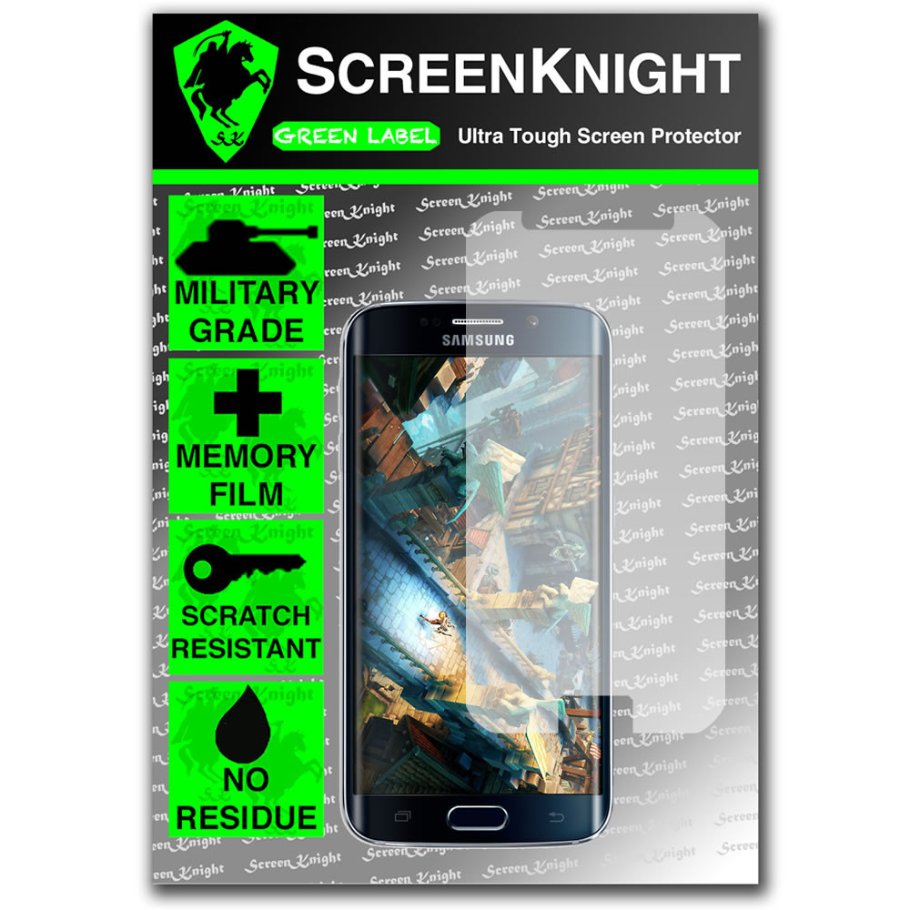 ScreenKnight Samsung Galaxy S6 Edge Front Invisible Shield