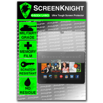 "ScreenKnight Amazon Kindle Fire HDX 7"" Front Invisible Shield"