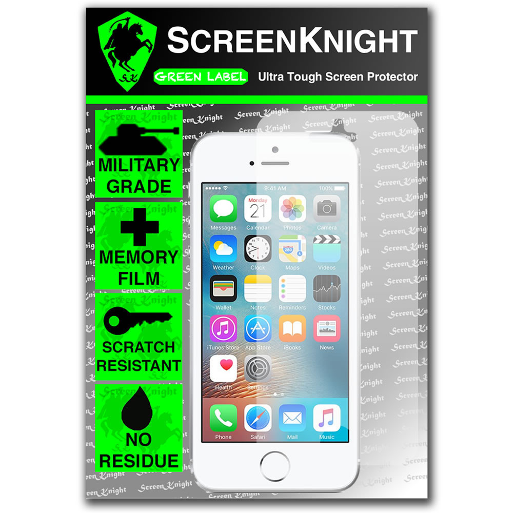 ScreenKnight Apple iPhone SE Front Invisible Shield