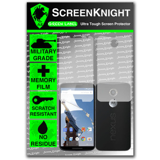 ScreenKnight Google Nexus 6 Full Body Invisible Shield