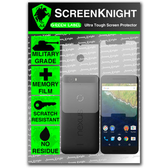 ScreenKnight Google Nexus 6P Full Body Invisible Shield
