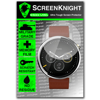 Motorola Moto360 2nd Gen 46mm Watch Front Invisible Shield