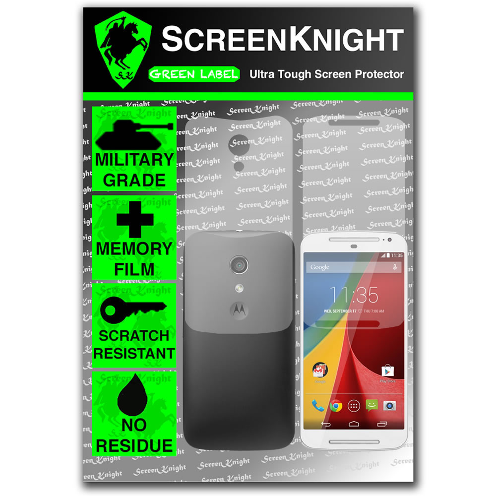 Motorola Moto G 2014 Full Body Screen Protector