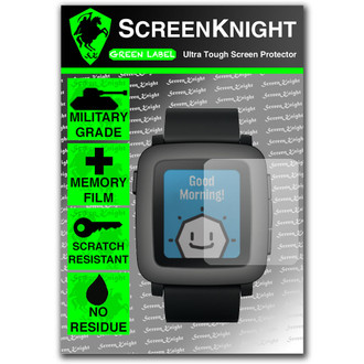 Pebble Time Front Invisible Shield