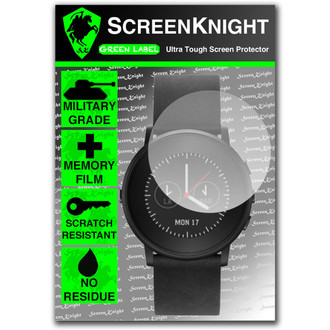 Pebble Time Round Front Invisible Shield