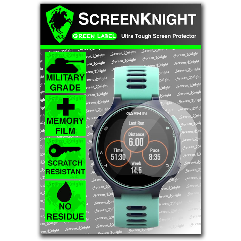 Forerunner 735xt Screen Protector Military Shield Screenknight