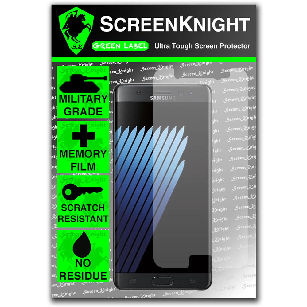 Samsung Galaxy Note 7 Front Invisible Shield screen protector