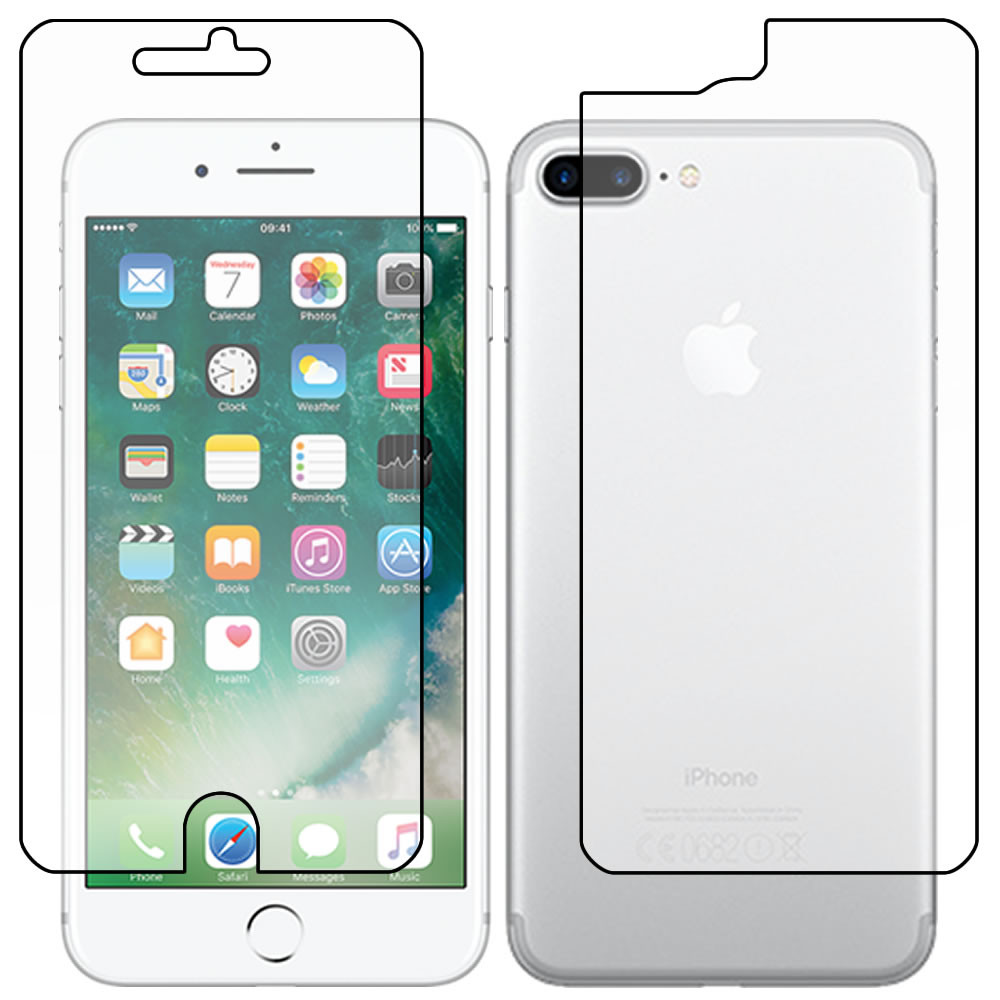 """Apple iPhone 7 - Plus 5.5"""" Full Body Screen Protector - Military Shield"""
