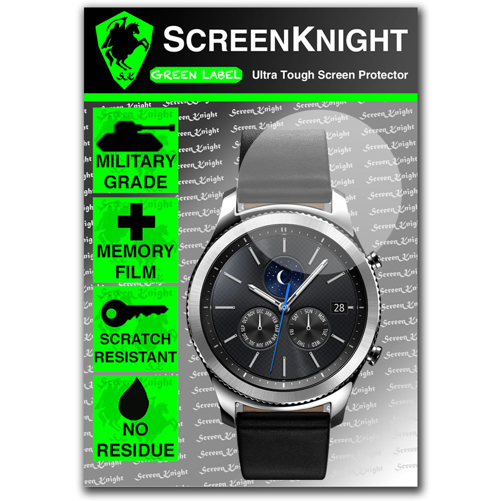 Samsung Galaxy Gear S3 Classic Screen Protector  - 1 Pack