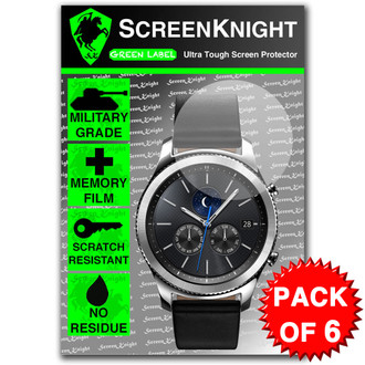 Samsung Galaxy Gear S3 Classic Screen Protector - 6 Pack