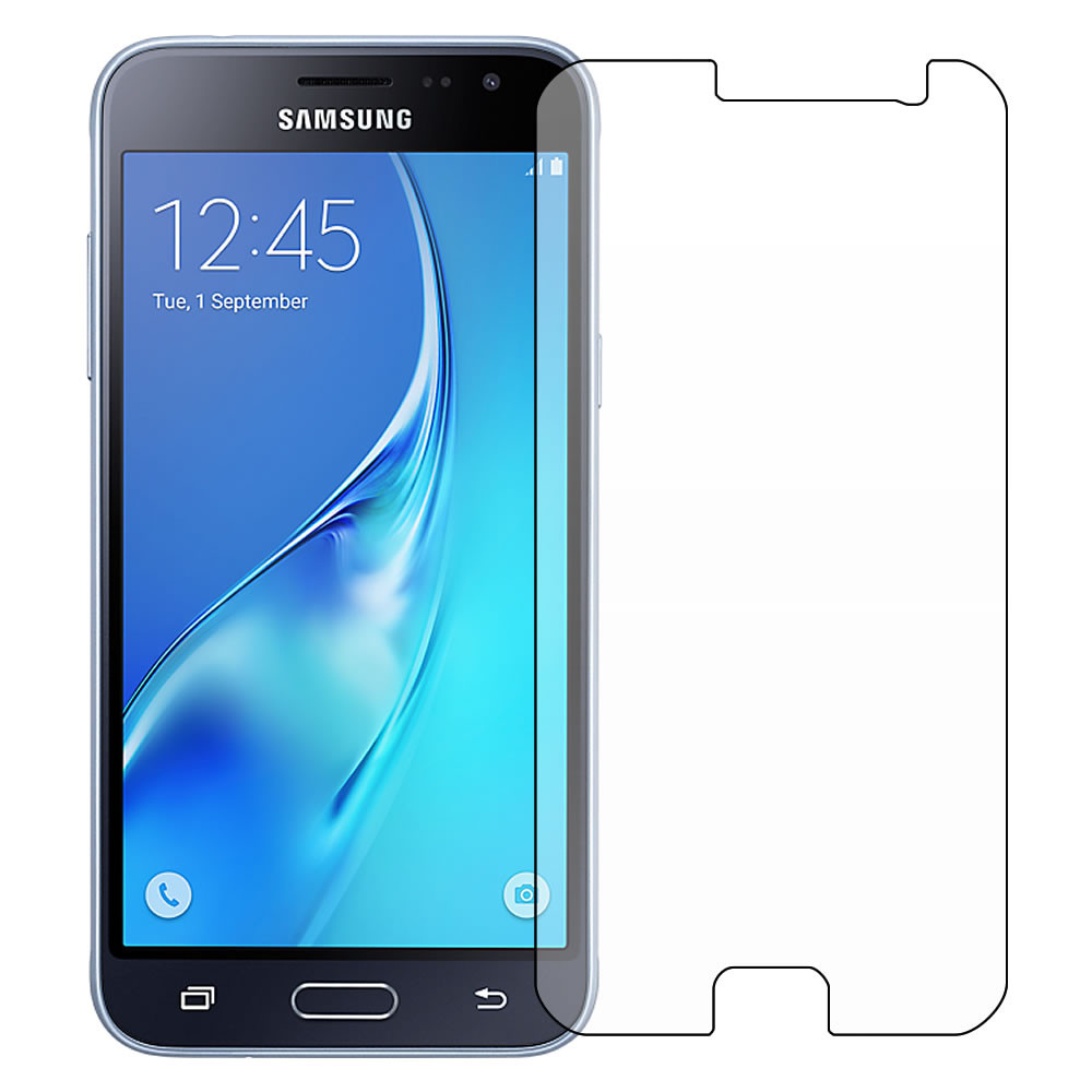 Samsung Galaxy J3 Screen Protector [2016] - Military Shield outline