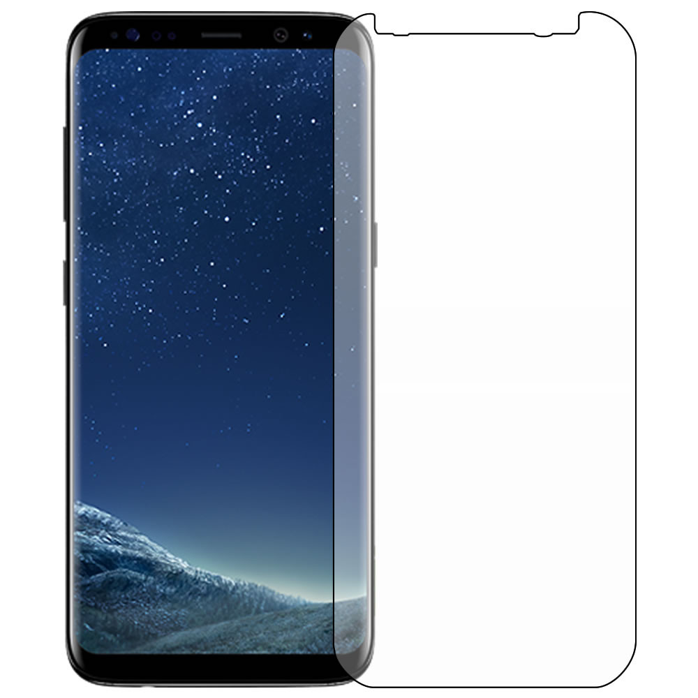 Galaxy S8 Screen Protector Outline