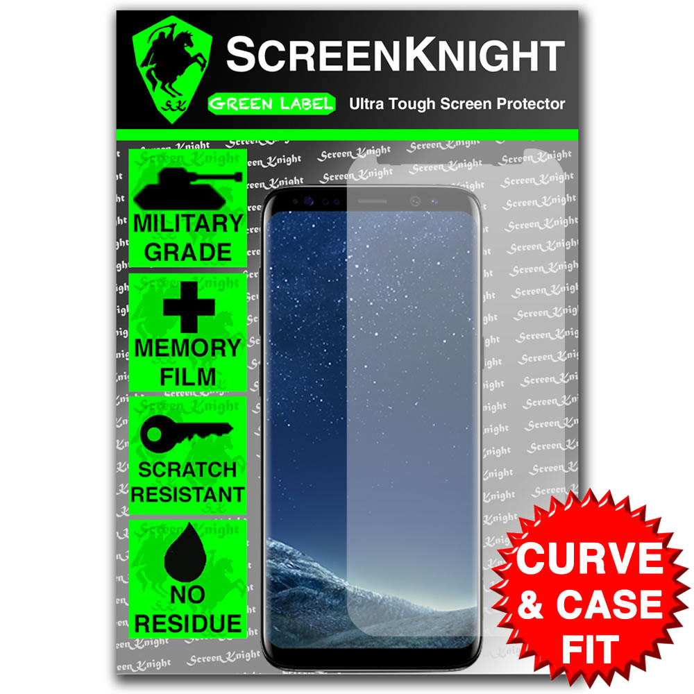 Galaxy S8 Screen Protector - Case Fit