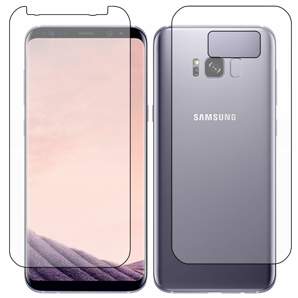 Galaxy S8 Plus (S8+) Full Body Screen Protector Outline