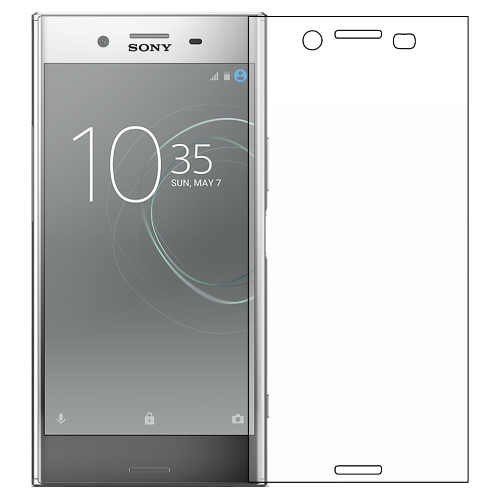 Sony Xperia XZ Premium Screen Protector outline