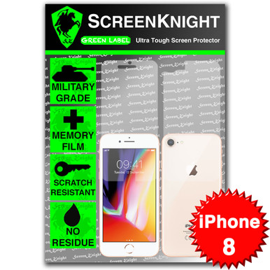 iPhone 8 Screen Protector - Military Shield - Full body