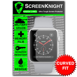 Apple Watch Series 3 - 38mm Screen Protector - Military Shield