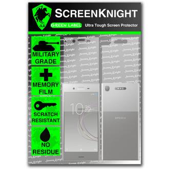 Sony Xperia XZ1 Screen Protector - Military Shield - Full Body