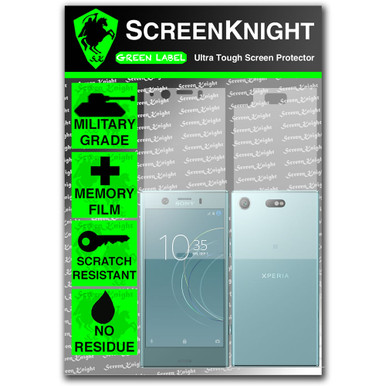 Sony Xperia XZ1 Compact Screen Protector - Military Shield - Full Body