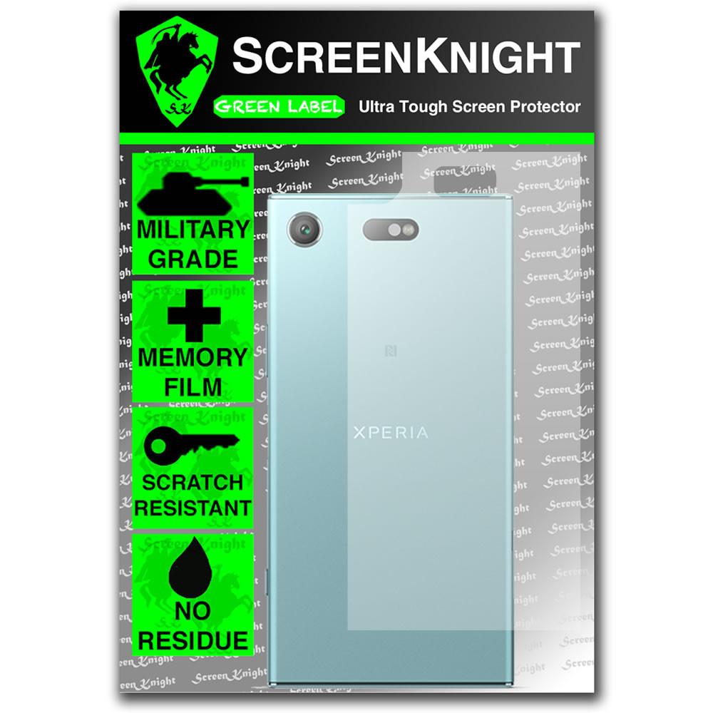 Sony Xperia XZ1 Compact Screen Protector - Military Shield - Back