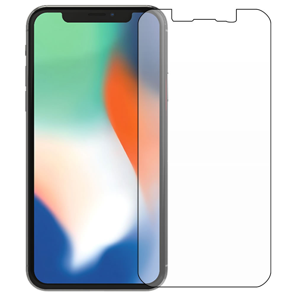 iPhone X Screen Protector - Military Shield - Front